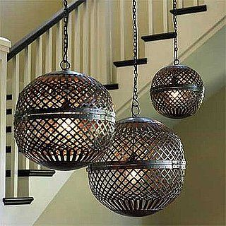 moroccan inspired lighting. Moroccan Inspired Lighting. These Hanging Recycled Metal Globes Captures The Geo Vibe That Perfectly Blends With Today\\u0027s Trend. They Add Warmth And Lighting Qtsi.co