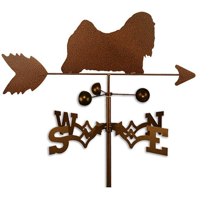 Handmade Lhasa Apso Dog Weathervanes Handmade Angels Weather Vanes