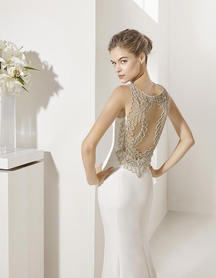 escotes de espalda que enamoran. tendencias 2017 en novia | bodas