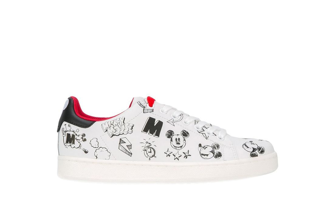 Mickey Mouse sneakers - White MOA Master Of Arts eB4PvG