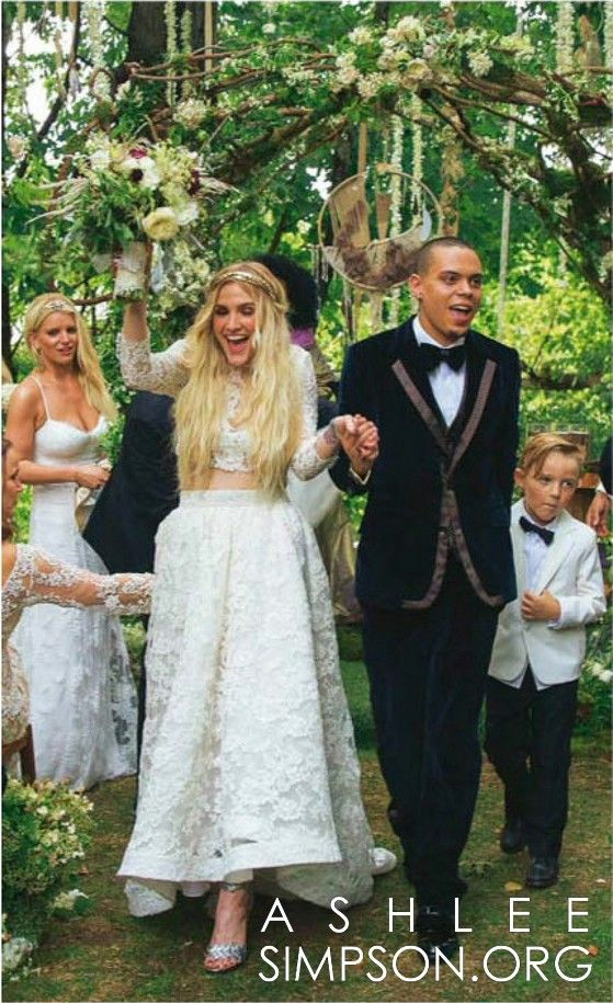 Ashlee Simpson Ross Wedding