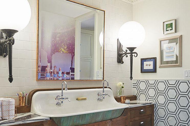 makeover a modern take on 1920 s bathroom decor bathroom ideas rh pinterest com 1920s themed bathroom