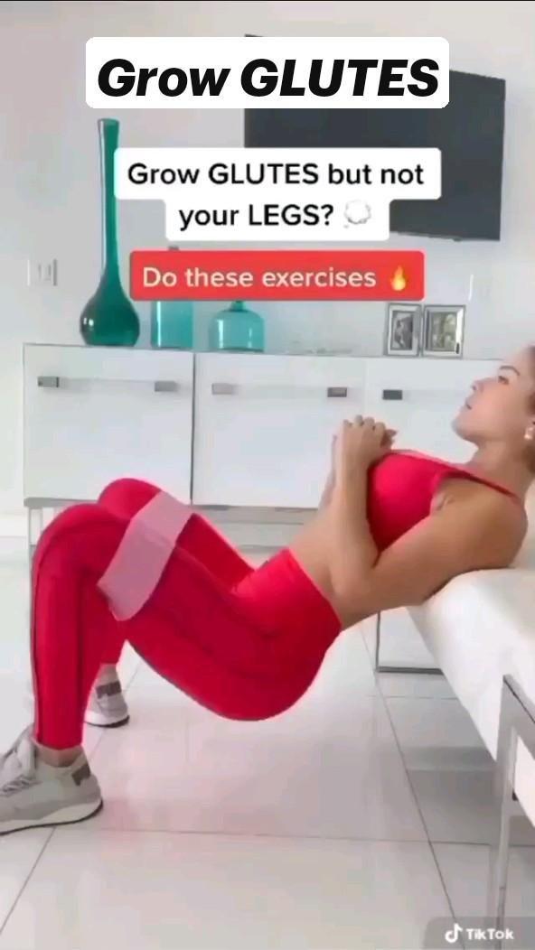 Grow GLUTES workout