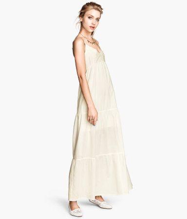 872e64b6d356 H M Cotton Maxi Dress  29.95