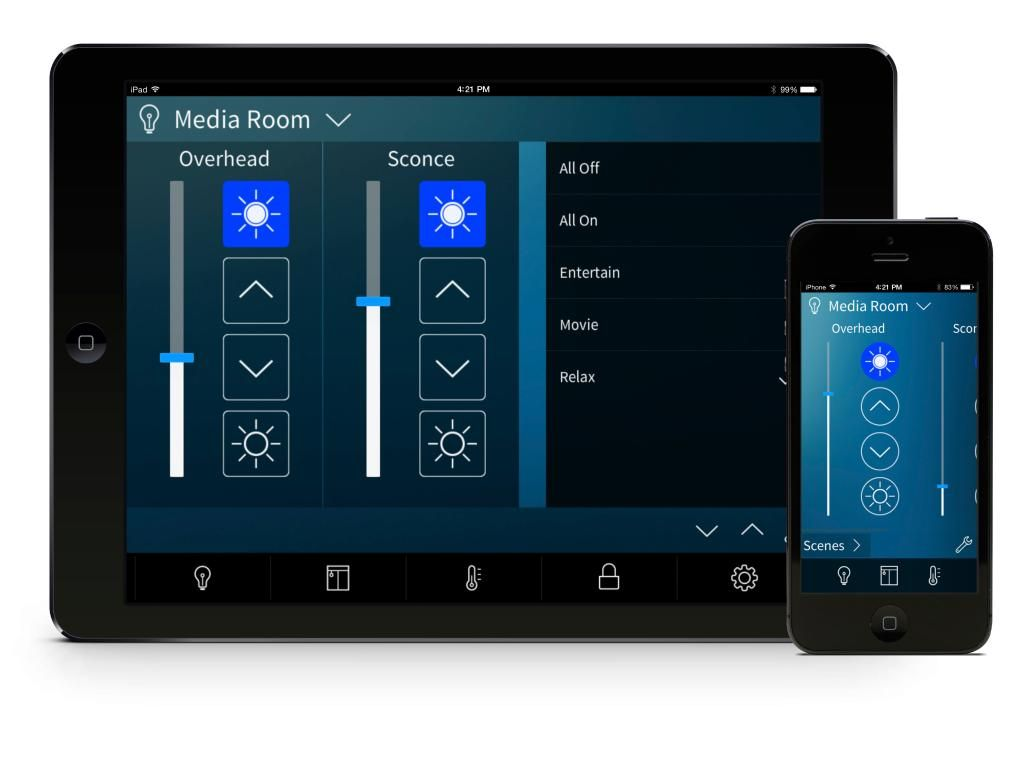 Smart Home Automation: Crestron responds to Apple HomeKit with Pyng iPad control system. Looks like a great solution.
