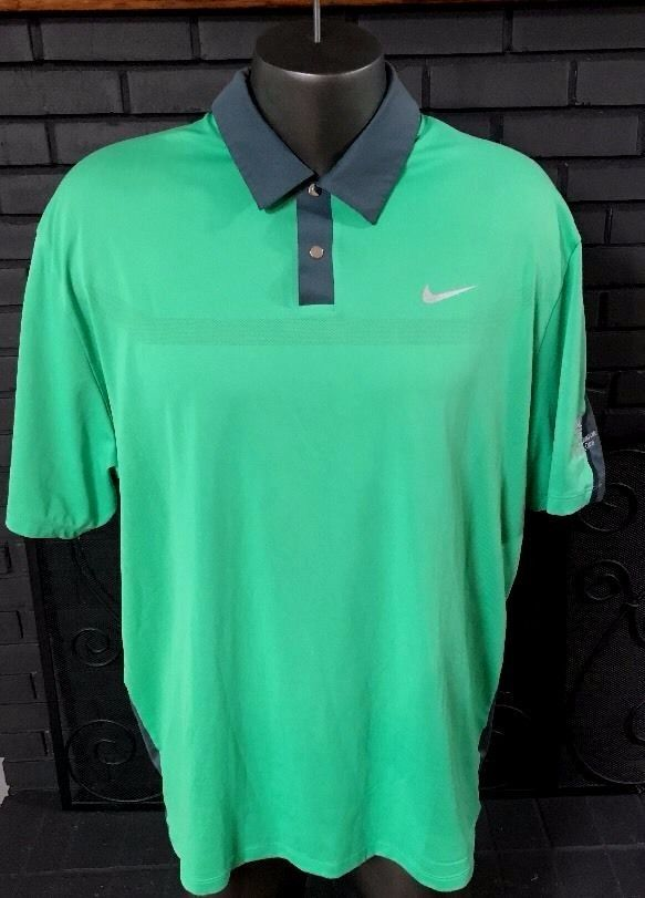 Clothing, Shoes & Accessories Nike Dri-fit Tiger Woods Men's Xl Polo Shirt