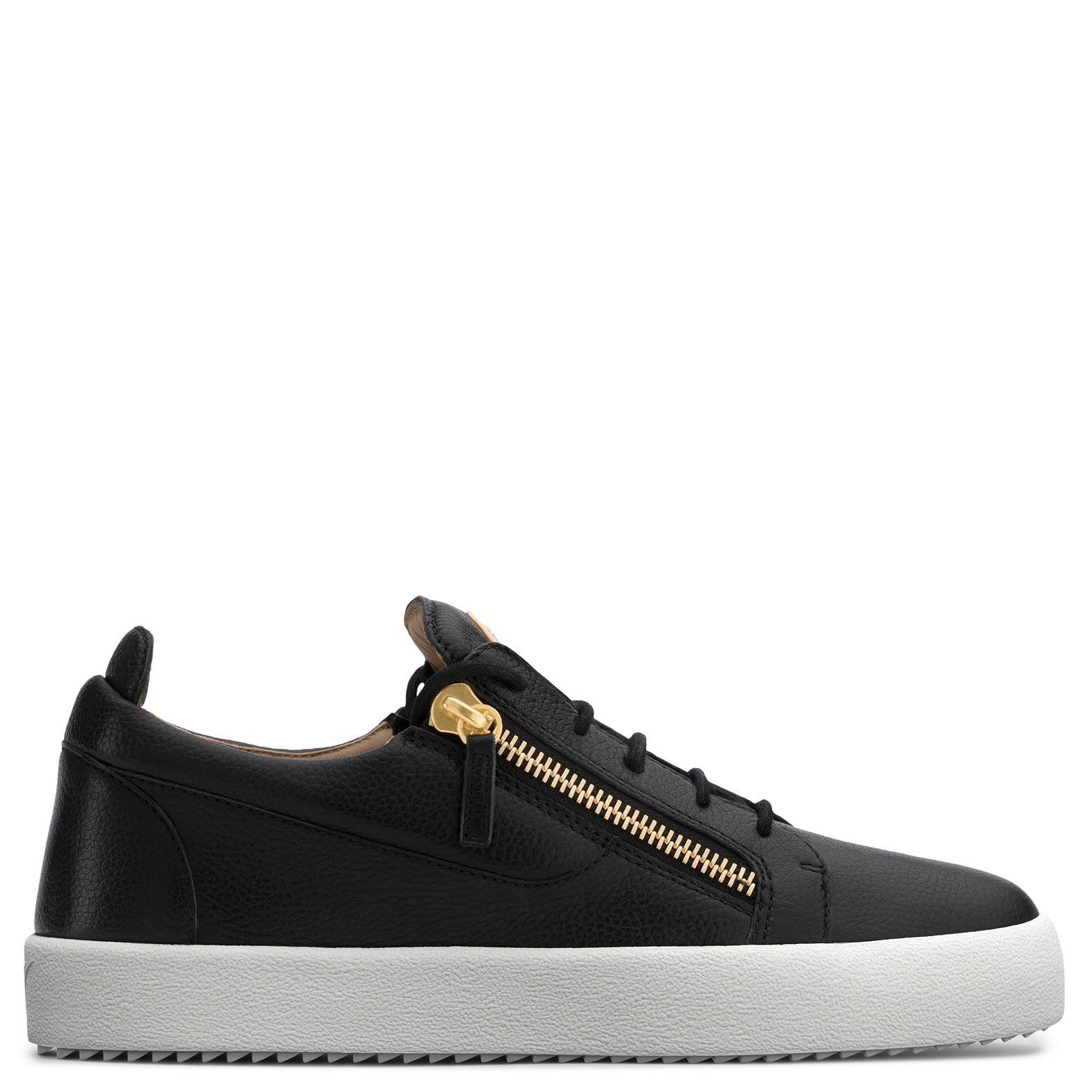 Leather sneakers, Giuseppe zanotti