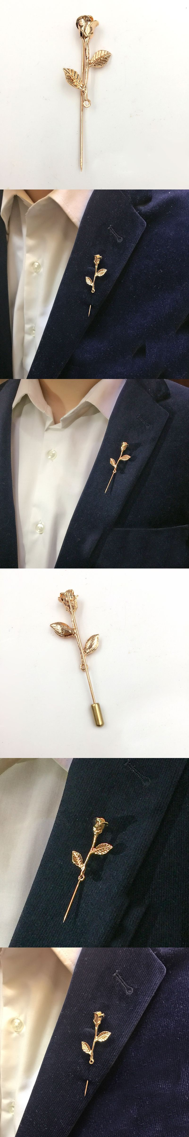 cheap fashion fastener gentleman wear brooch and s lapel accessories with feather product by online suit pins for stick boutonniere handmade men