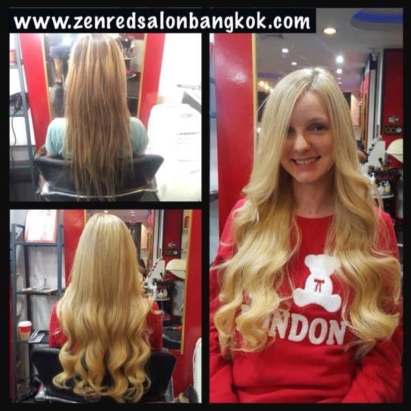 Best Hair Extensions In Bangkok Thailand Can Be Found At Zenred Hair