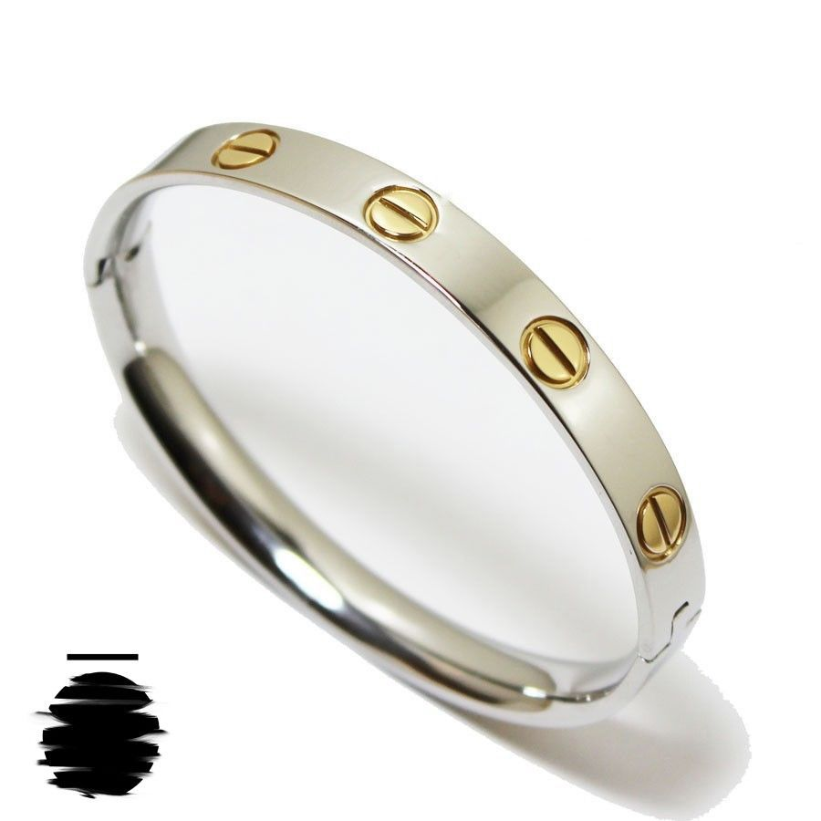 Très Cartier Inspired Replica Love Bracelet without Crystal in Gold  EO54