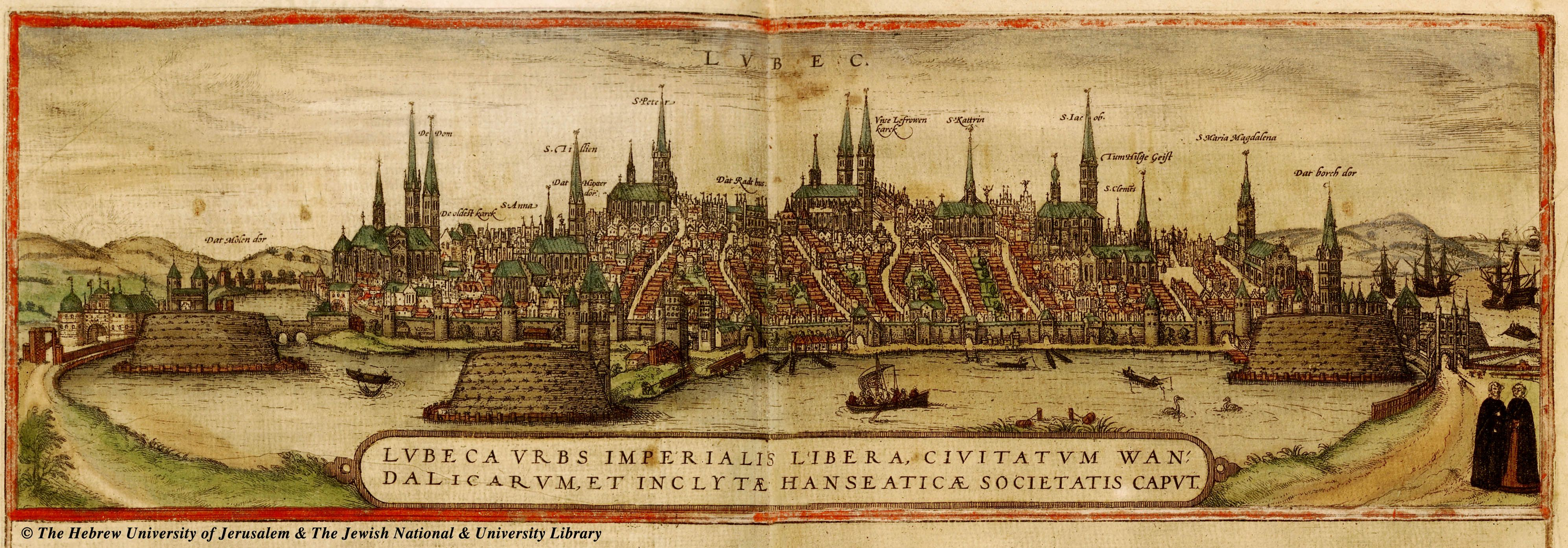 Lbeck ANTIQUE MAPS OF CITIES AND FORTRESSES Pinterest Antique