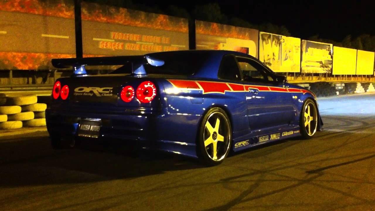 R34 GTR V SPEC-II NUR EDITION | must watch it | Pinterest | Nissan ...