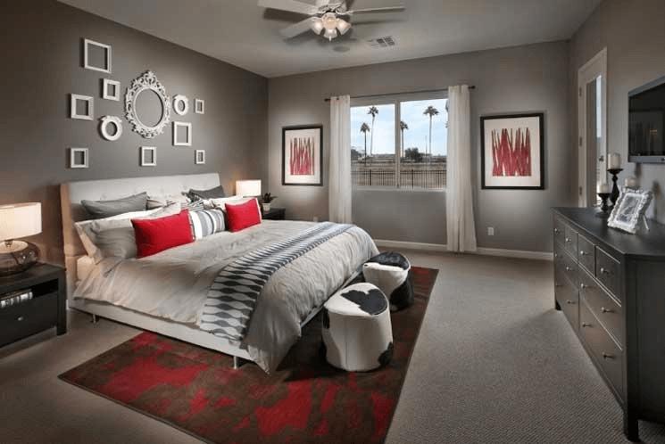 Schlafzimmer Deko Ideen Wand Grau Home Interior Design Interior