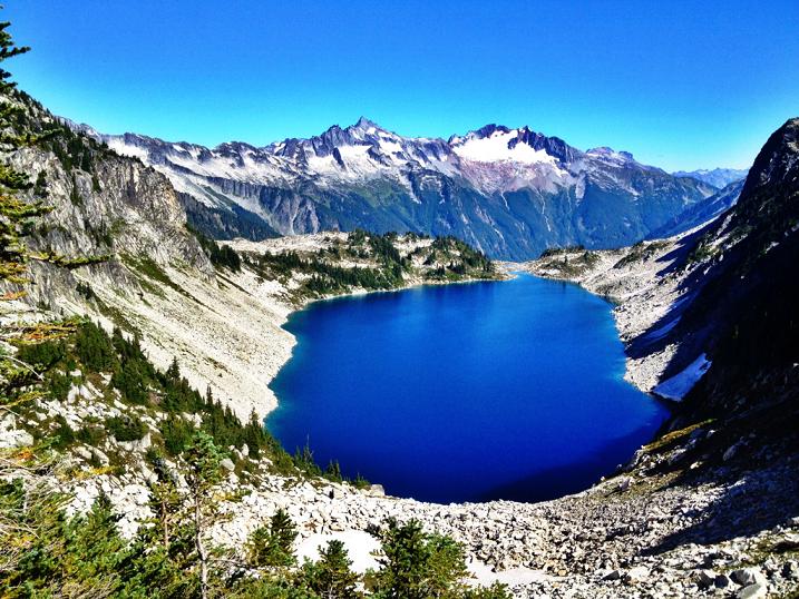 Hidden Lake Lookout Concrete Wa Usa Landscapes