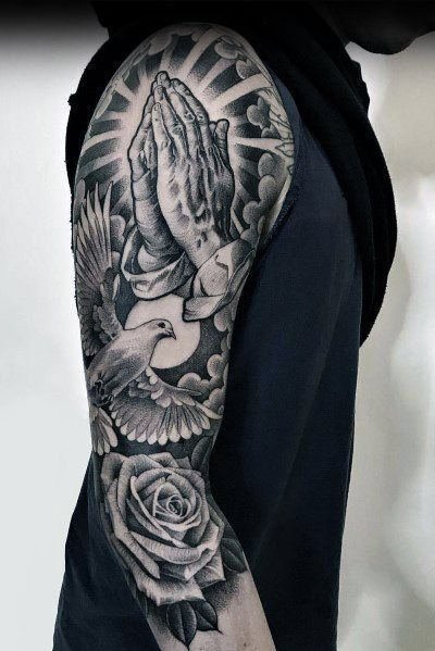 Dove Tattoos For Men In 2020 Cool Arm Tattoos Arm Tattoos For Guys Sleeve Tattoos
