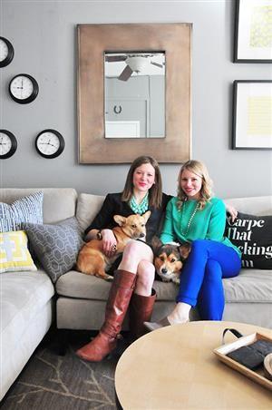 Alli Kristen S Family Affair House Tour Apartment Therapy Bright House Lesbian Couple House Tours Family Affair Modern House