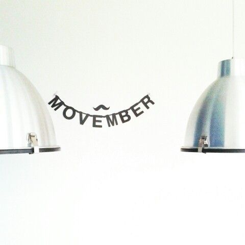 Movember wordbanner