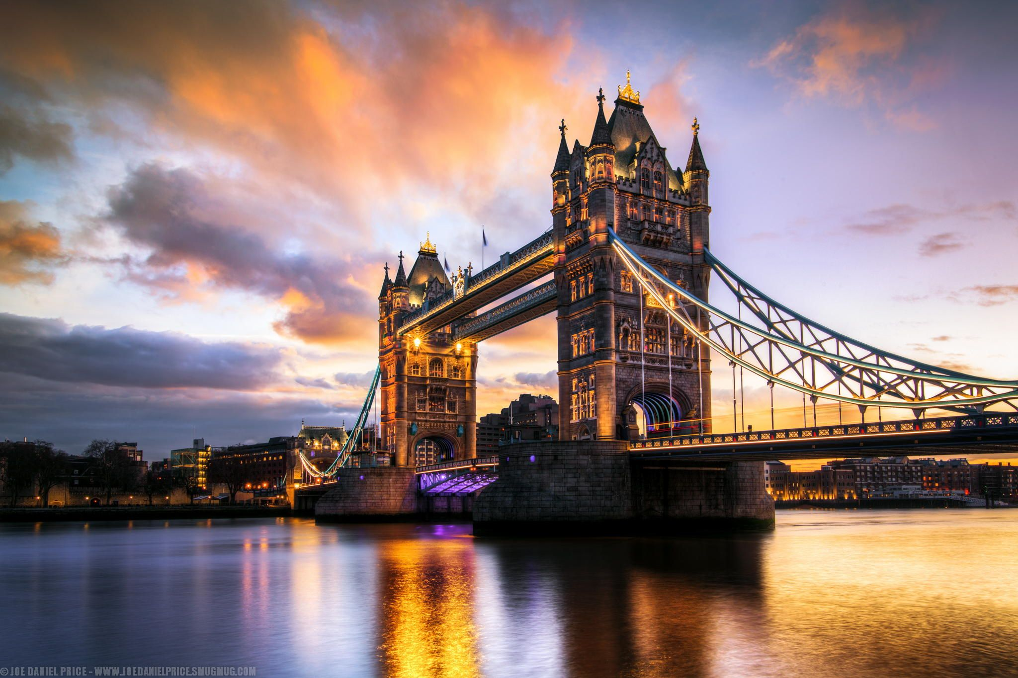 Sunrise at Tower Bridge, London, England by Joe Daniel Price on 500px