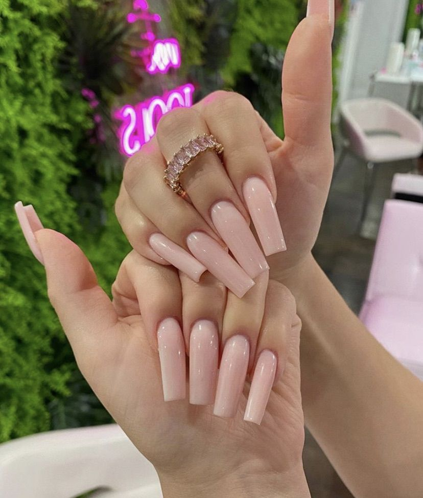 Shared By Bae Jada Find Images And Videos About Nails On We Heart It The App To Get Lost In What In 2020 Long Acrylic Nails Square Acrylic Nails Fire Nails