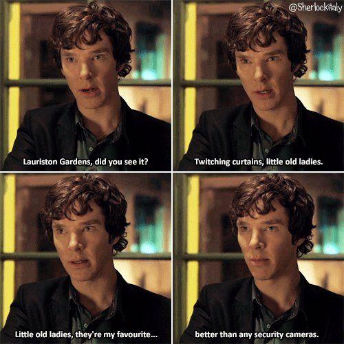 Little Old Ladies Benedict Cumberbatch Sherlock Sherlock Holmes Bbc Sherlock Funny Sherlock Holmes Benedict
