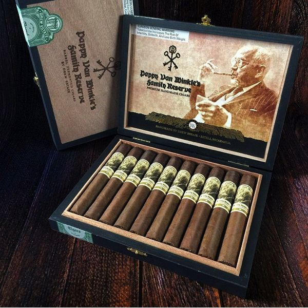 Pappy Van Winkle Cigars by Drew Estate have shipped • Tailored Ash
