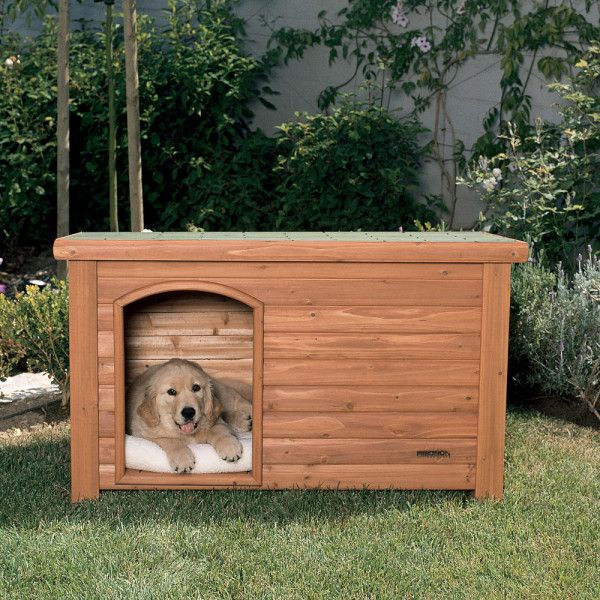 Precision Pet Products Outback Log Cabin Dog House Large Dog