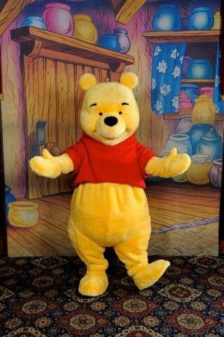 Ça me rappelle étrangement ma fête de 18ans... Oui oui, une mascotte Winnie!