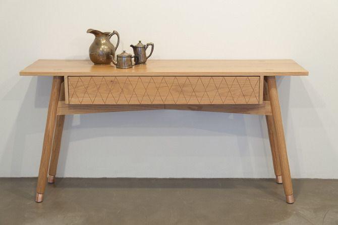 Credenzas Modernas De Madera : Horizontes chapultepec media madera credenza oak copper