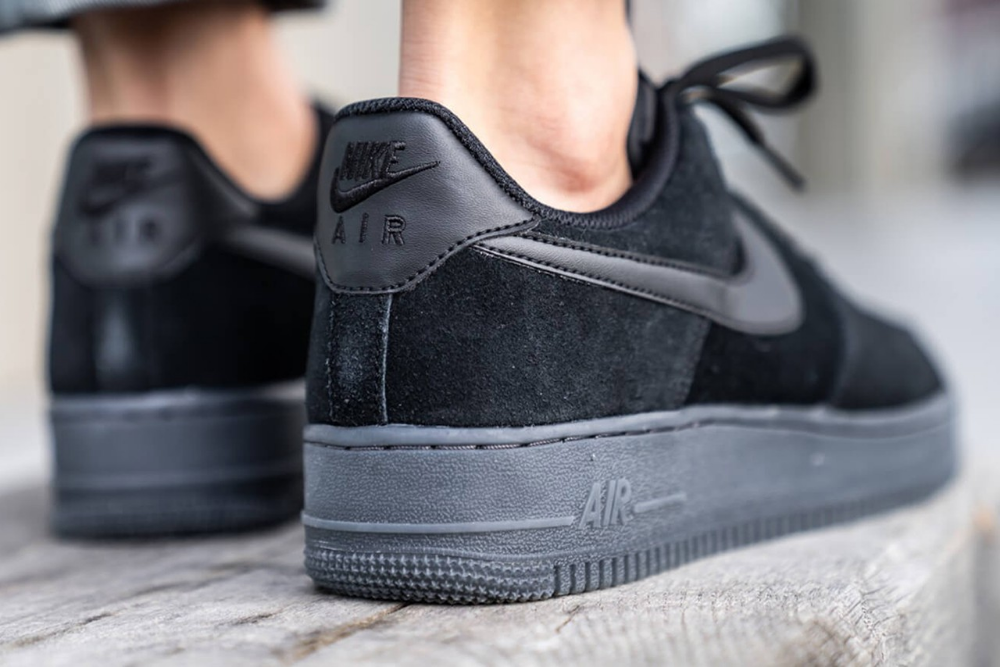 Nike S Air Force 1 07 Lv8 3 Receives Lush Suede Black Anthracite Update Nike Air Force Nike Air Nike