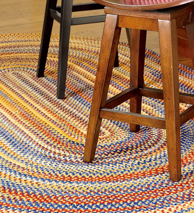 French Country Braid Rug - Plow & Hearth