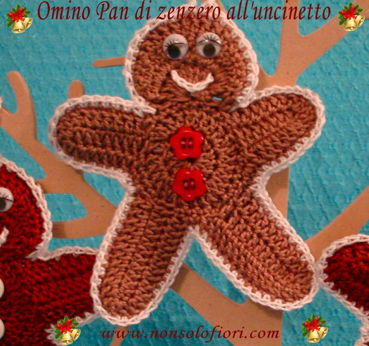 Il blog di Laura: Omino di pandizenzero all'uncinetto | 1125x1200