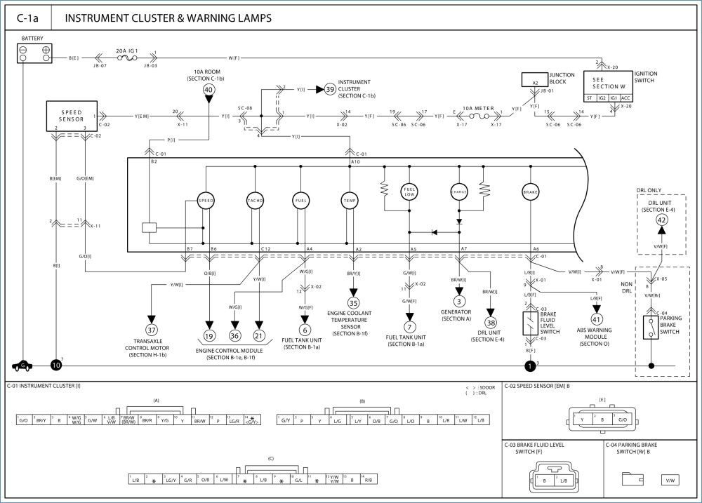 kia pregio wiring diagram kia pregio aircon wiring diagram wiring Nissan Fuse Box