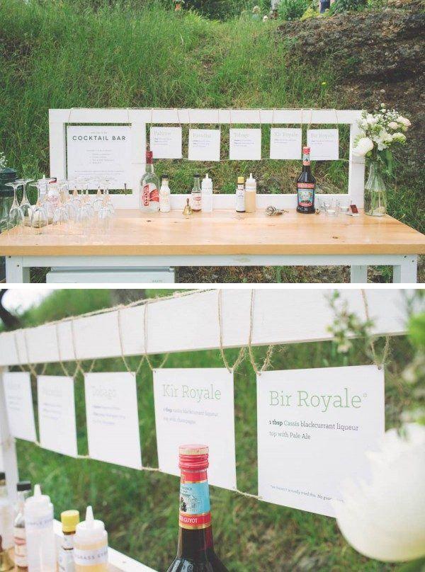 18 Creative Reception Bar Ideas Pinterest Reception Wedding And
