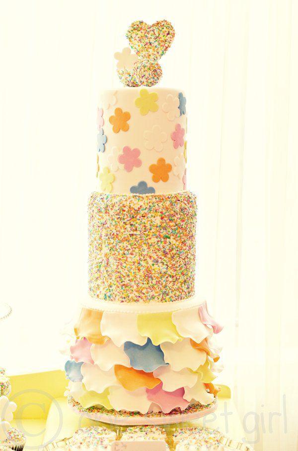 Amy Atlas Blog Feature   Petal cake, Sprinkles and Cake