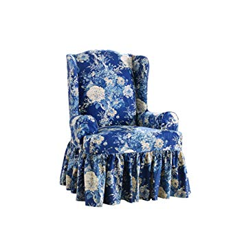 Sure Fit Ballad Bouquet by Waverly Wing Chair