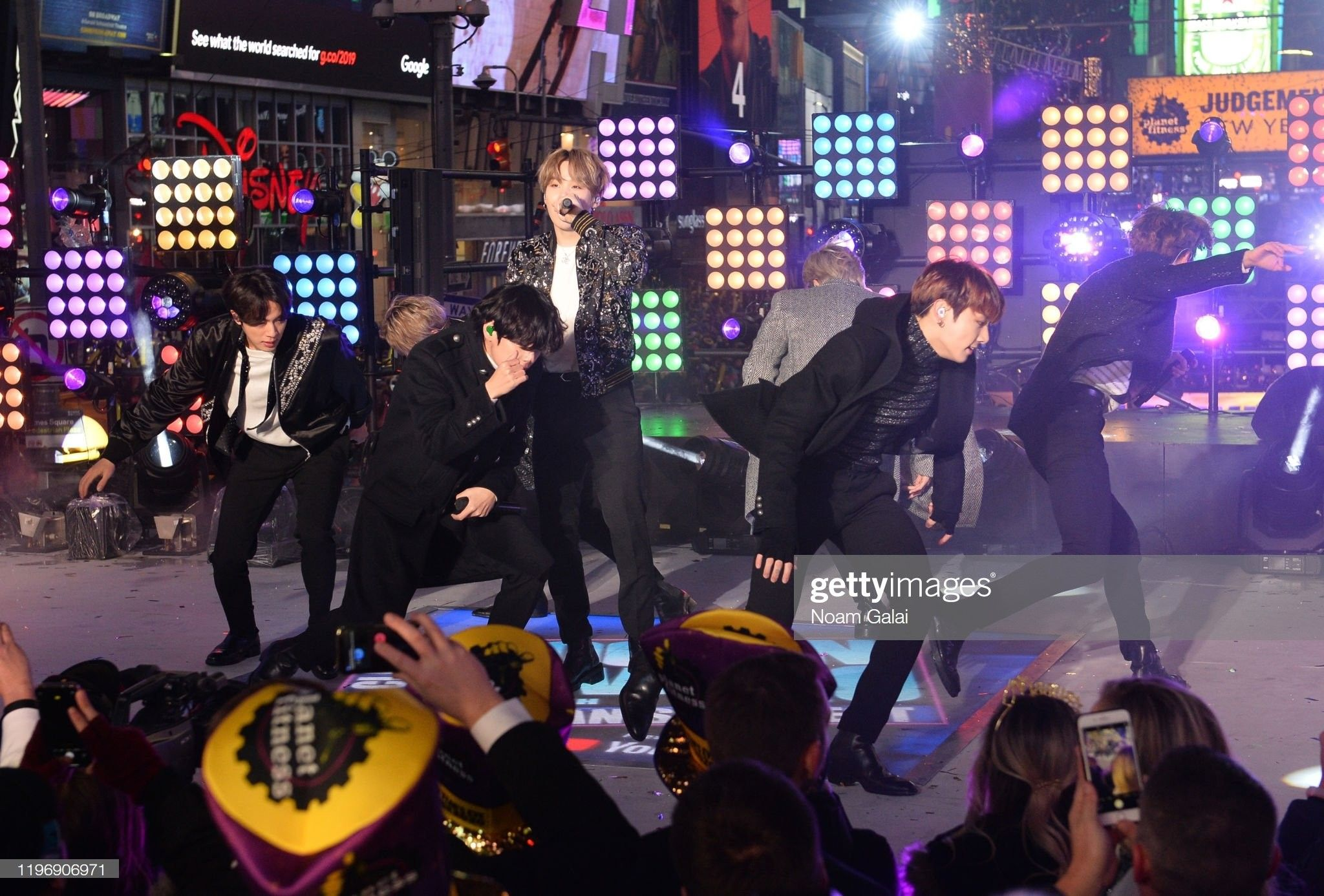 200101 Times Square New Year's Eve 2020 Celebration 게티이미지