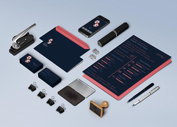 Identidade visual própria e aplicações.Personal branding and applications.