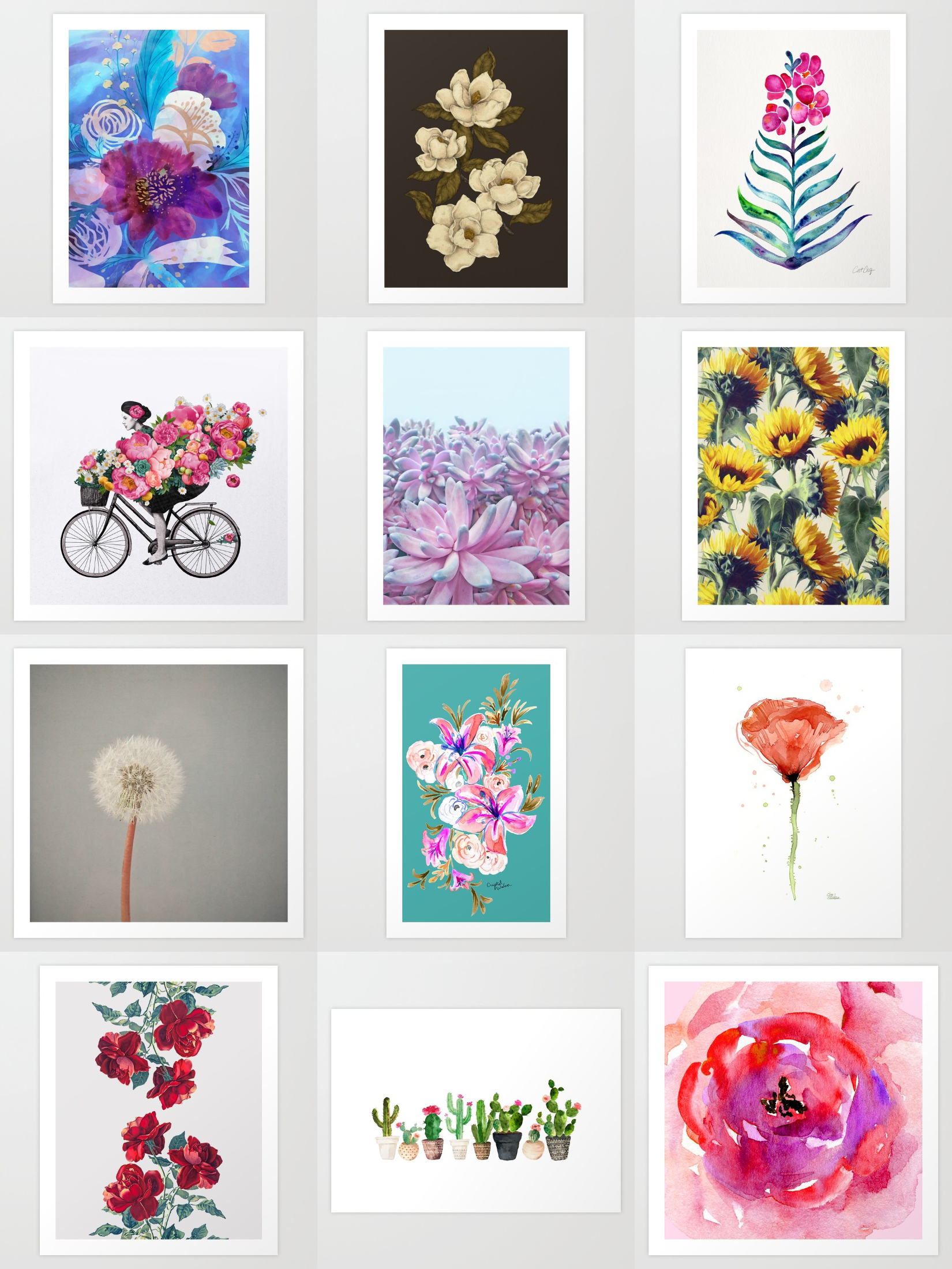 73ab9f77b Shop unique and original art prints on Society6. Society6 is home to  hundreds of thousands of artists from around the globe, uploading and  selling their ...