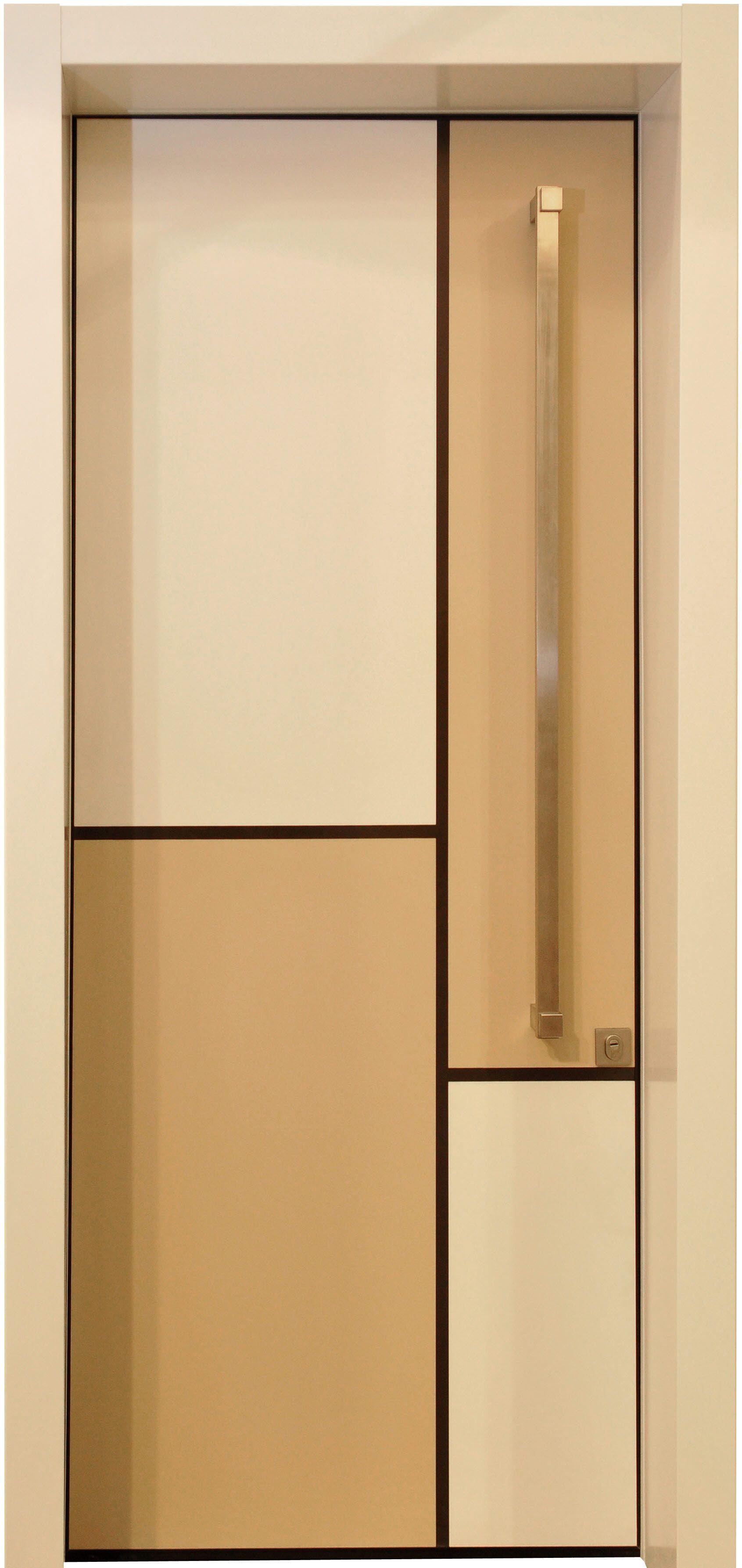דלת מונדריאן דלתות כניסה מעוצבות בנגיעה אומנותית ליין art רשפים