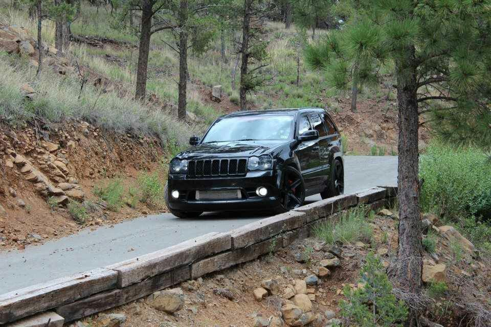 2010 Jeep Grand Cherokee SRT8   Blacked Out.