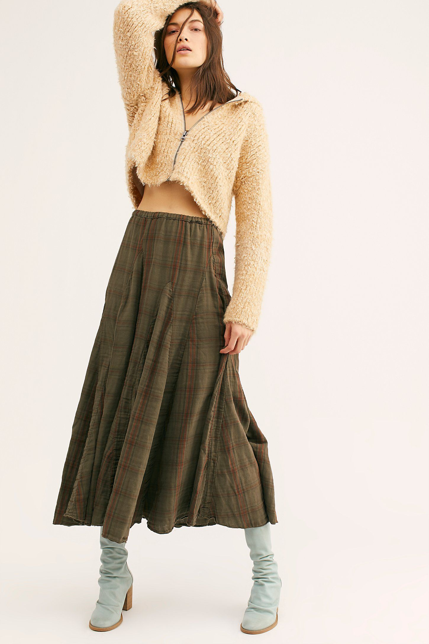 212a9639f3f Lily Cotton Maxi Skirt in 2019
