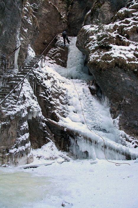 Misové vodopády - Suchá Belá