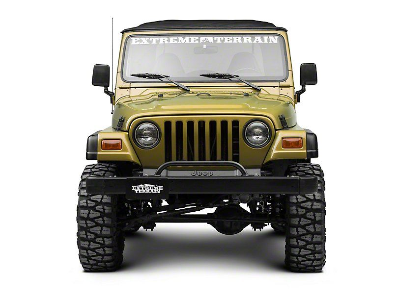 Kc Hilites Jeep Wrangler 2 Tab Bumper Mount Light Bar Gloss Black 7400 97 06 Jeep Wrangler Tj Jeep Wrangler Jeep Wrangler Tj Wrangler Tj