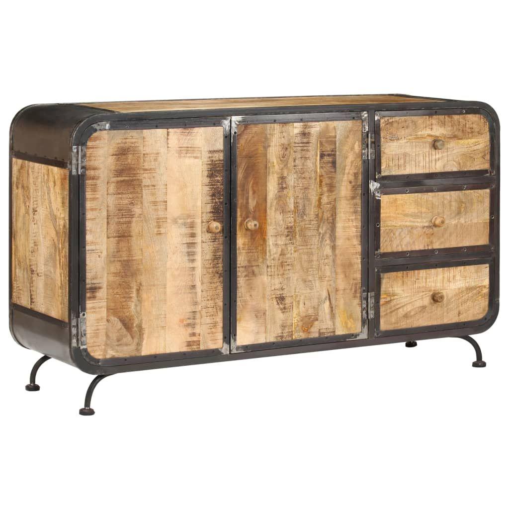 Sideboard 140x40x80 cm Solid Mango Wood