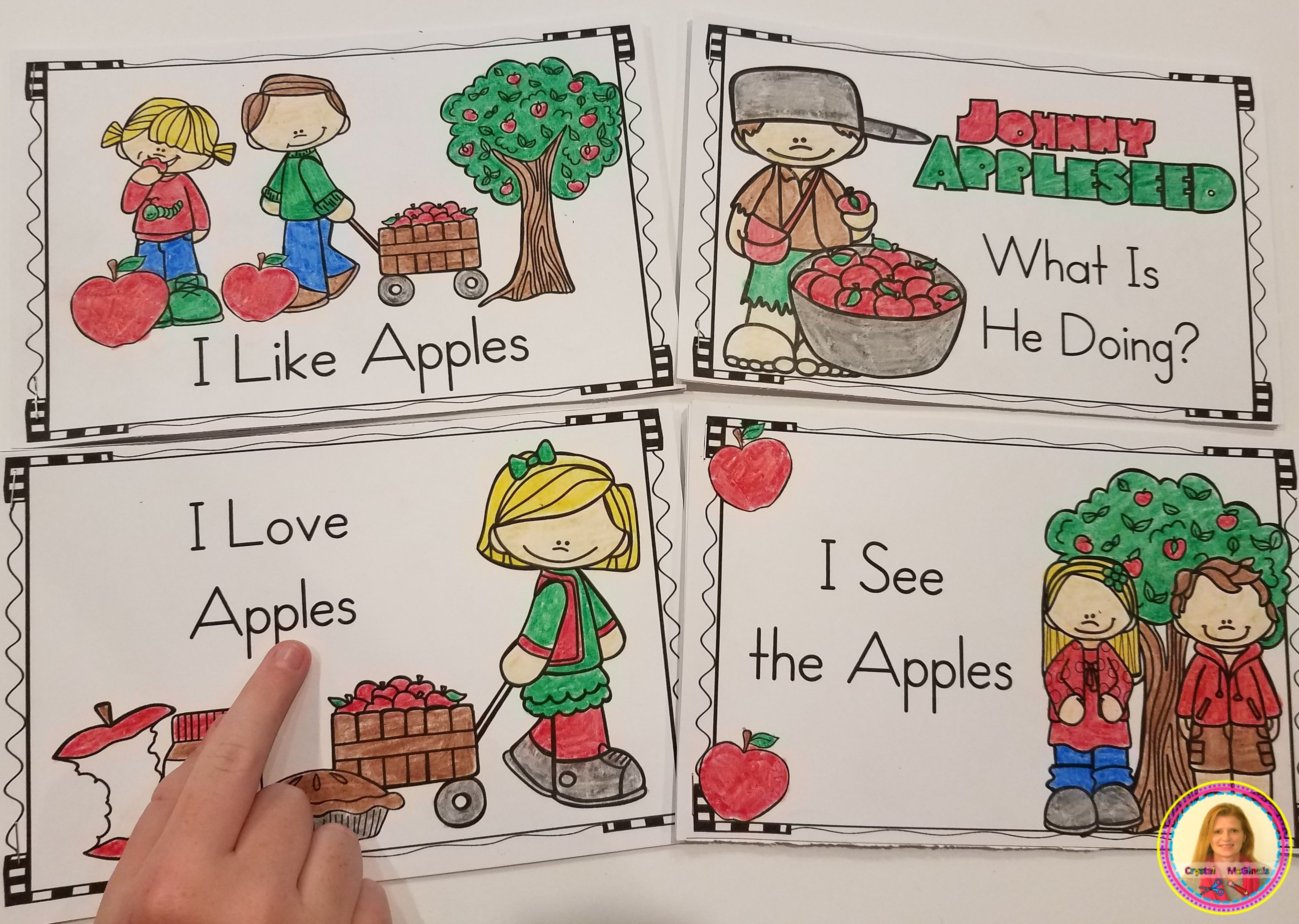 Fill Those Book Boxes Simple Fall Emergent Readers