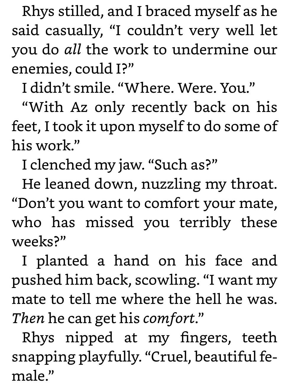 Honestly For This Scene I Just Picture Feyre As A Big Angry