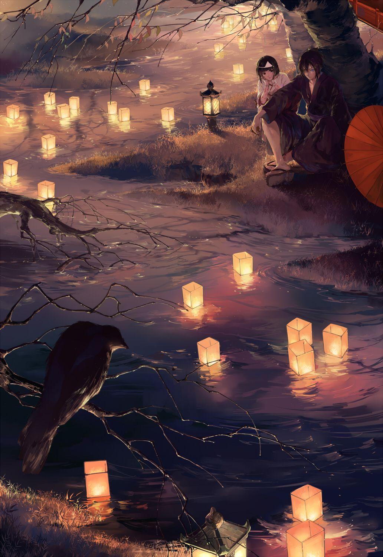 夜绯·秋水 | 黄泉野�·改 [pixiv] - Tumblr , wtf?