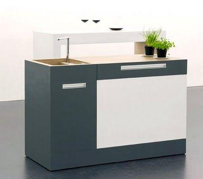 Pequeña cocina modular para pequeños espacios   Furniture ...