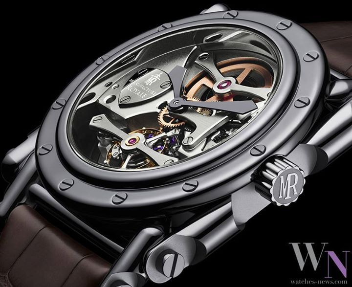 MANUFACTURE ROYALE - Androgyne Discover this brand on : www.watches-news.com #Watch