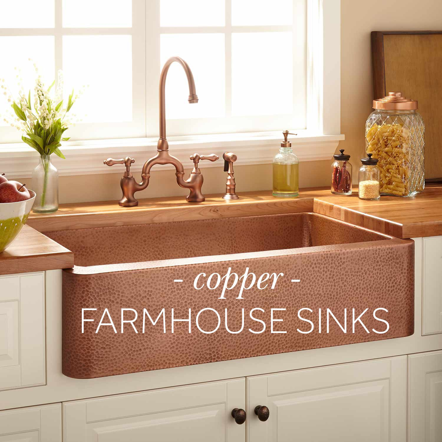 Bring Warmth And Texture To Your Kitchen Remodel With A Copper